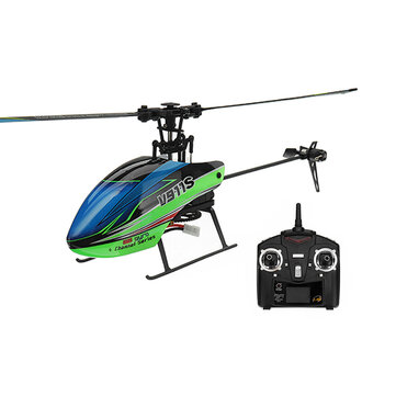 Coupone for WLtoys V911S 2.4G 4CH 6-Aixs Gyro Flybarless RC Helicopter RTF