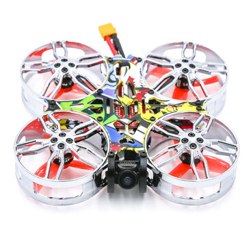Coupone for SKYZONE ATOMRC CineFlex CF100 100mm Exceed F411 Filght Controller BLS 15A 4 In 1 Brushless ESC 1105 5000KV Motor PNP Cinewhoop FPV Racing Drone