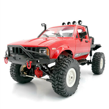 Coupone for WPL C14KM 1/16 4WD RC Car Vehicles Kit with Dual Speed Gear Case Metal Drive Shaft Axle Case Brass Gear