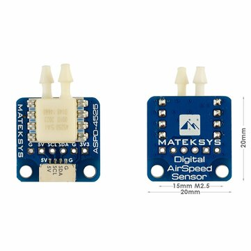 Coupone for 15% off for Mateksys Digital Airspeed Sensor ASPD-4525