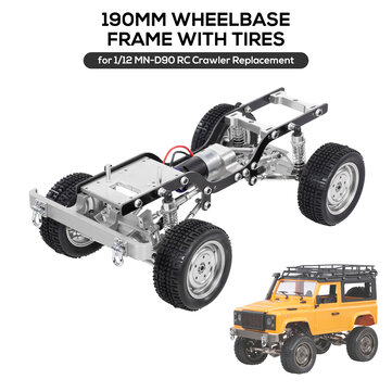 Coupone for 1/12 All Metal Climbing Frame For MN D90 Crawler RC Car Parts Without Electric Parts