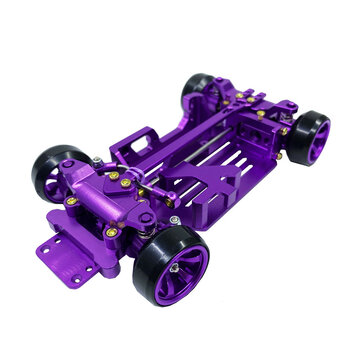 Coupone for Ruhazn 530 1/28 4WD Metal Rear Drift Repellent Frame Version RC Car Parts Electric DRZ XRX Mini Z Racing Model