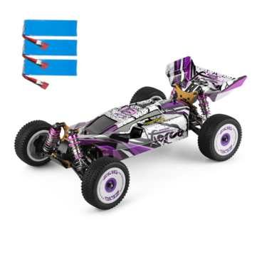 Coupone for Wltoys 124019 Several Battery RTR 1/12 2.4G 4WD 60km/h Metal Chassis RC Car Vehicles Models Kids Toys