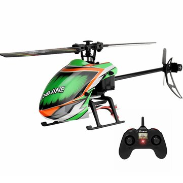 Coupone for Eachine E130 2.4G 4CH 6-Axis Gyro Altitude Hold Flybarless RC Helicopter RTF