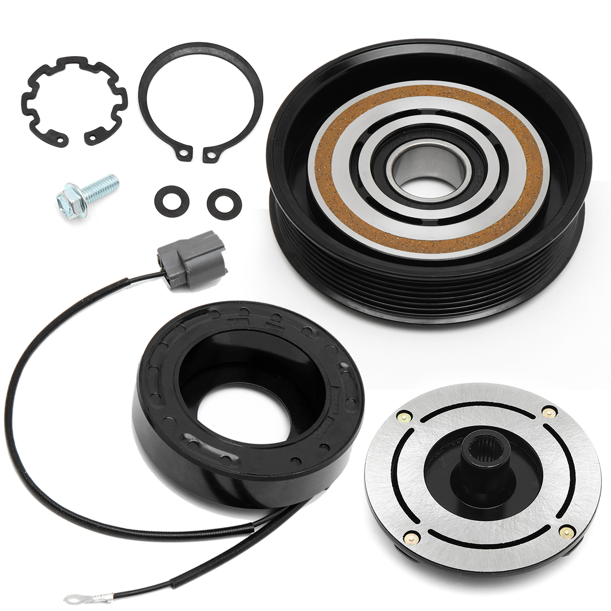 AC A/C Compressor Clutch Kit For Acura MDX TL Pulley Coil