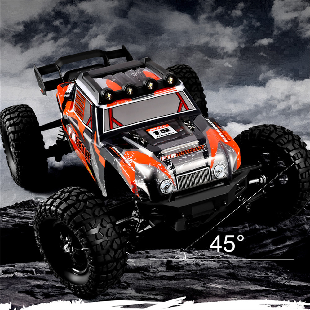 HBX 901A RTR 1/12 2.4G 4WD 45km/h Brushless RC Cars Fast Off-Road LED Light Truck Models Toys 3