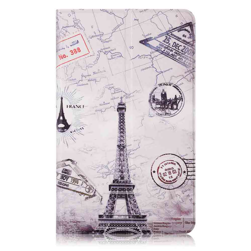 Iron Tower Painting Tablet Case for 8 Inch Xiaomi Mipad