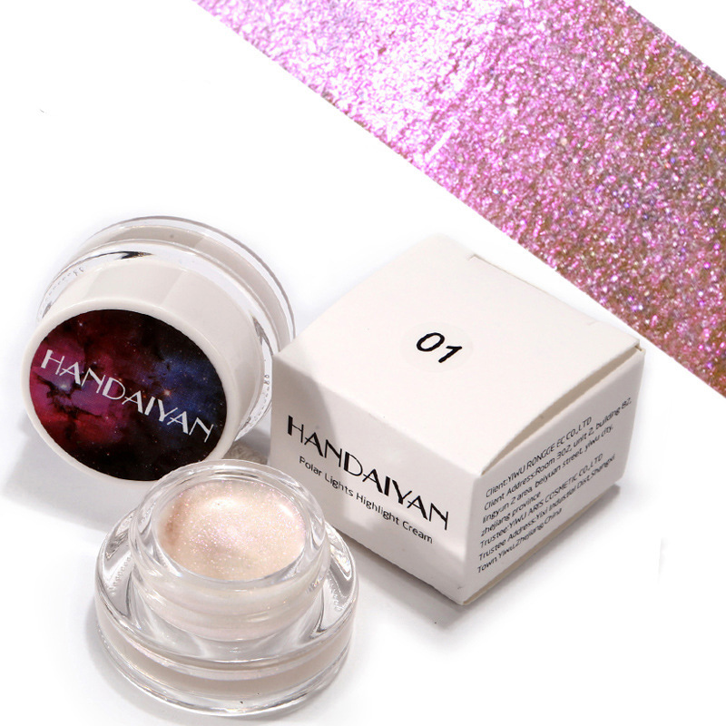 6 Colors Face Shimmer Highlighters Cream Pressed Loose