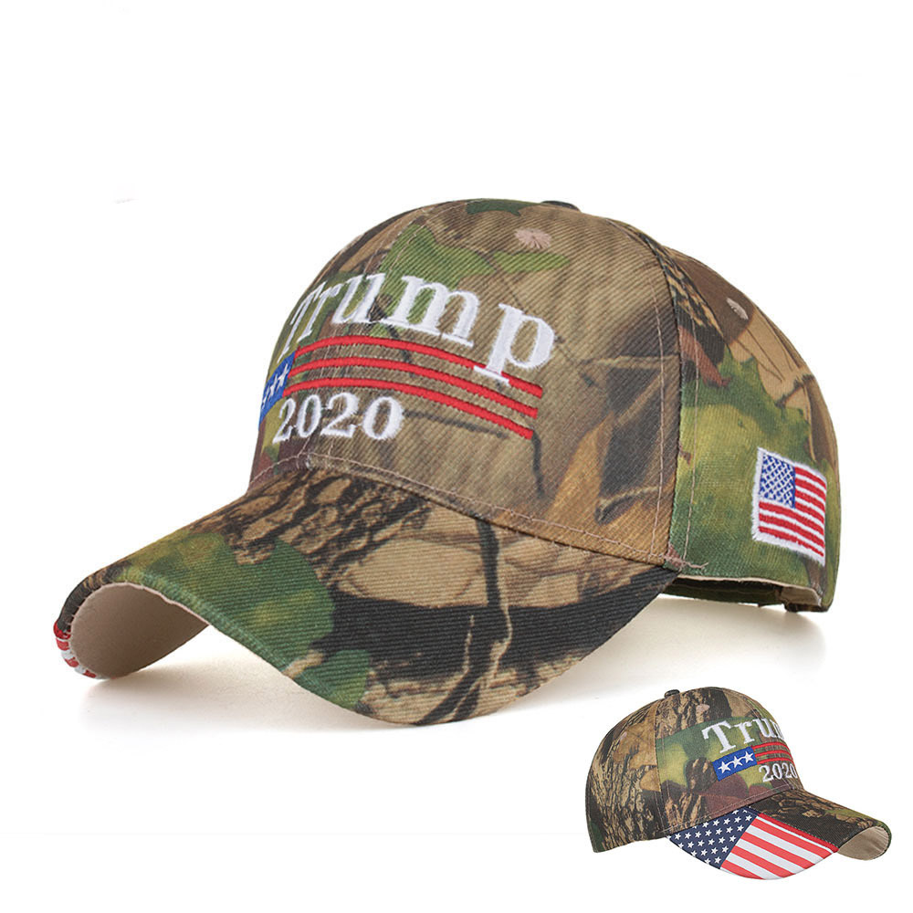 Donald Trump Hat 2020 Keep America Great Camo MAGA Cap Adjustable Baseball Hat