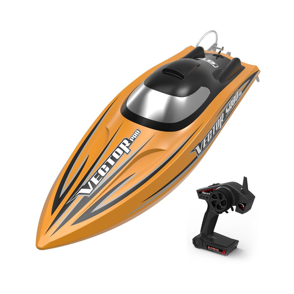 Volantexrc RTR Two Batteries Vector SR80 Pro 70km/h 800mm 798-4P ARTR RC Boat Metal Hardwares Auto Roll Back Function 1