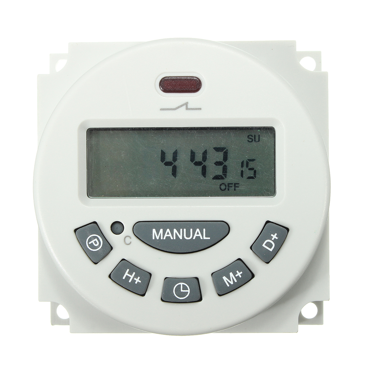 Excellway L701 12V/110V/220V LCD Digital Programmable Control Power Timer Switch Time Relay