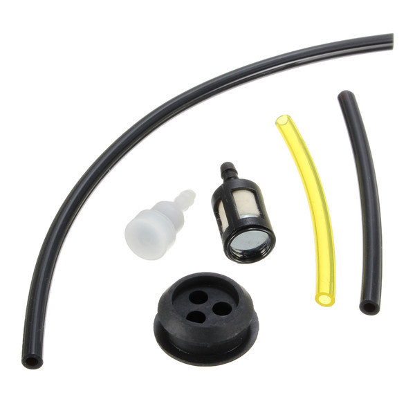 Fuel Line with Filter Vent Tank Grommet for Trimmers Bl