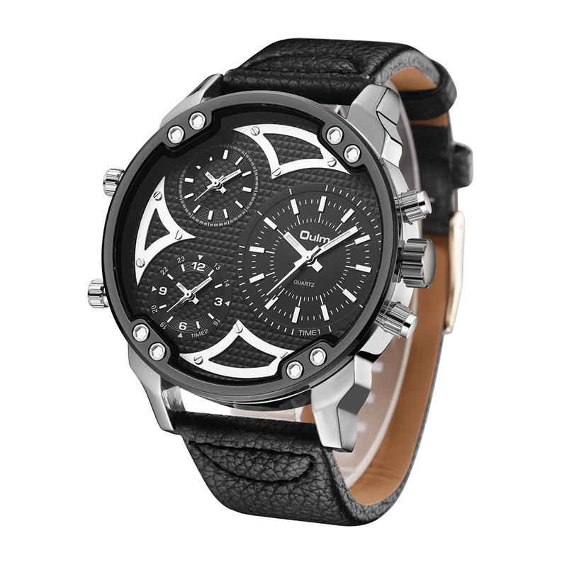 OULM HP3548A Work-dials Military Style Men Watch Genuin