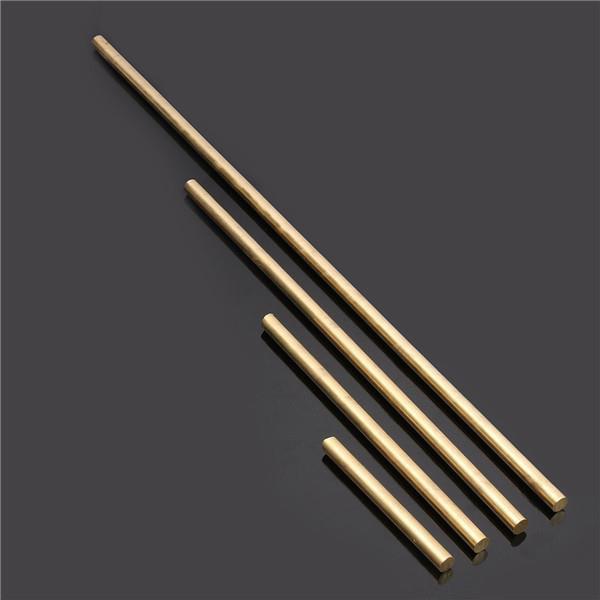 10mm Diameter 100/200/330/500mm Brass Round Bar Rod Circular Tube