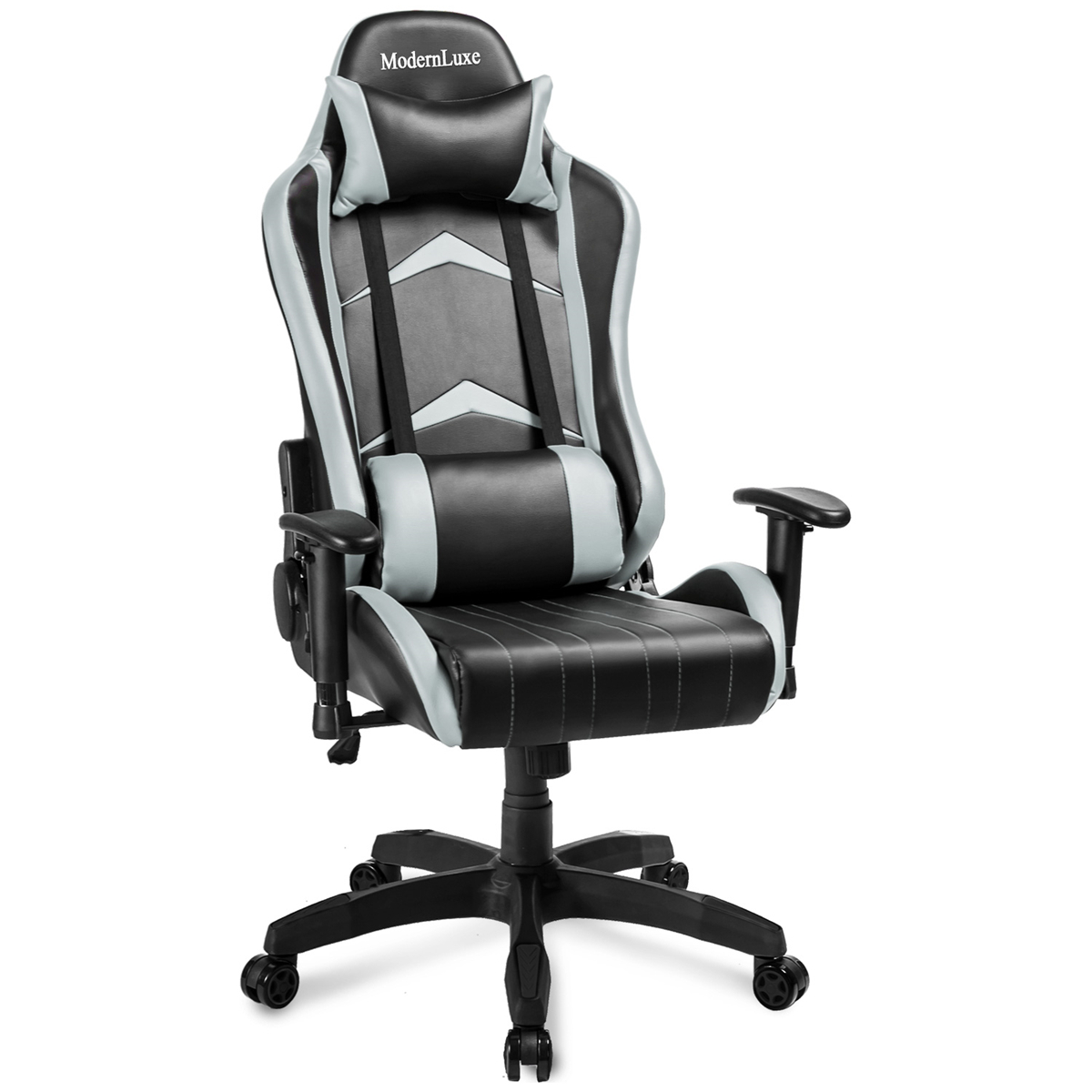 ModernLuxe Office Chair Racing Gaming Chair PU Leather