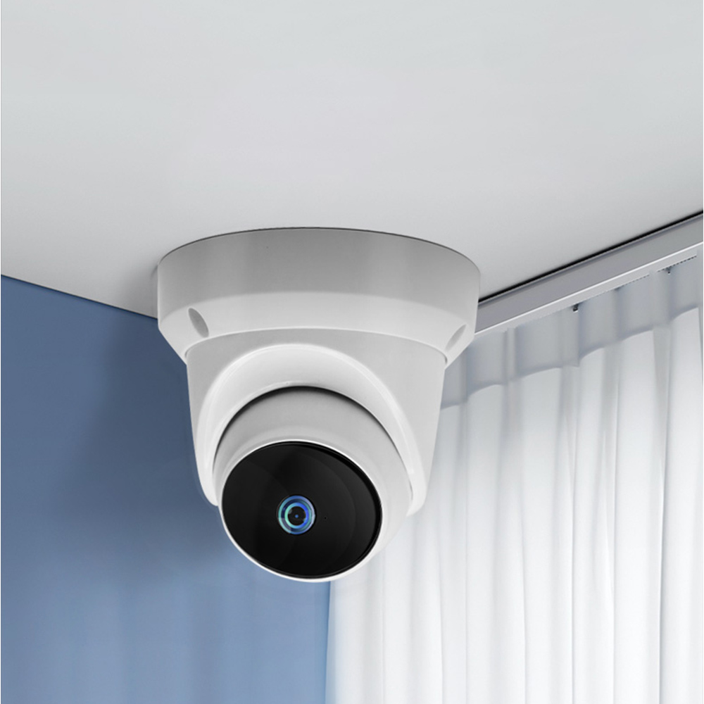 Xiaovv Q1 1080P H 265 Dome Pan Tilt WIFI Indoor Outdoor AI IP Camera 360 Onvif Night Vision APP Control Moving Detection Home Security Camera Baby Monitor