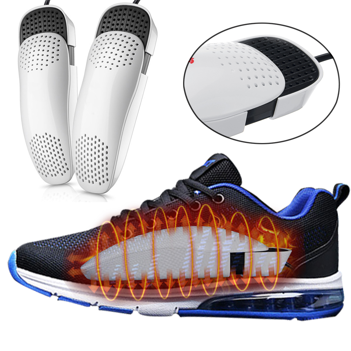 Shoe Boot Dryer Electric Sports Wet Warmer Heater Disinfectant Portable