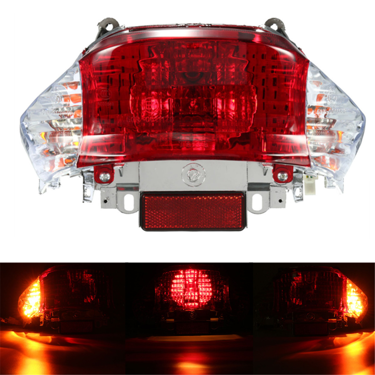 GY6 12V 50cc Scooter Tail Light Turn Signal Lamp