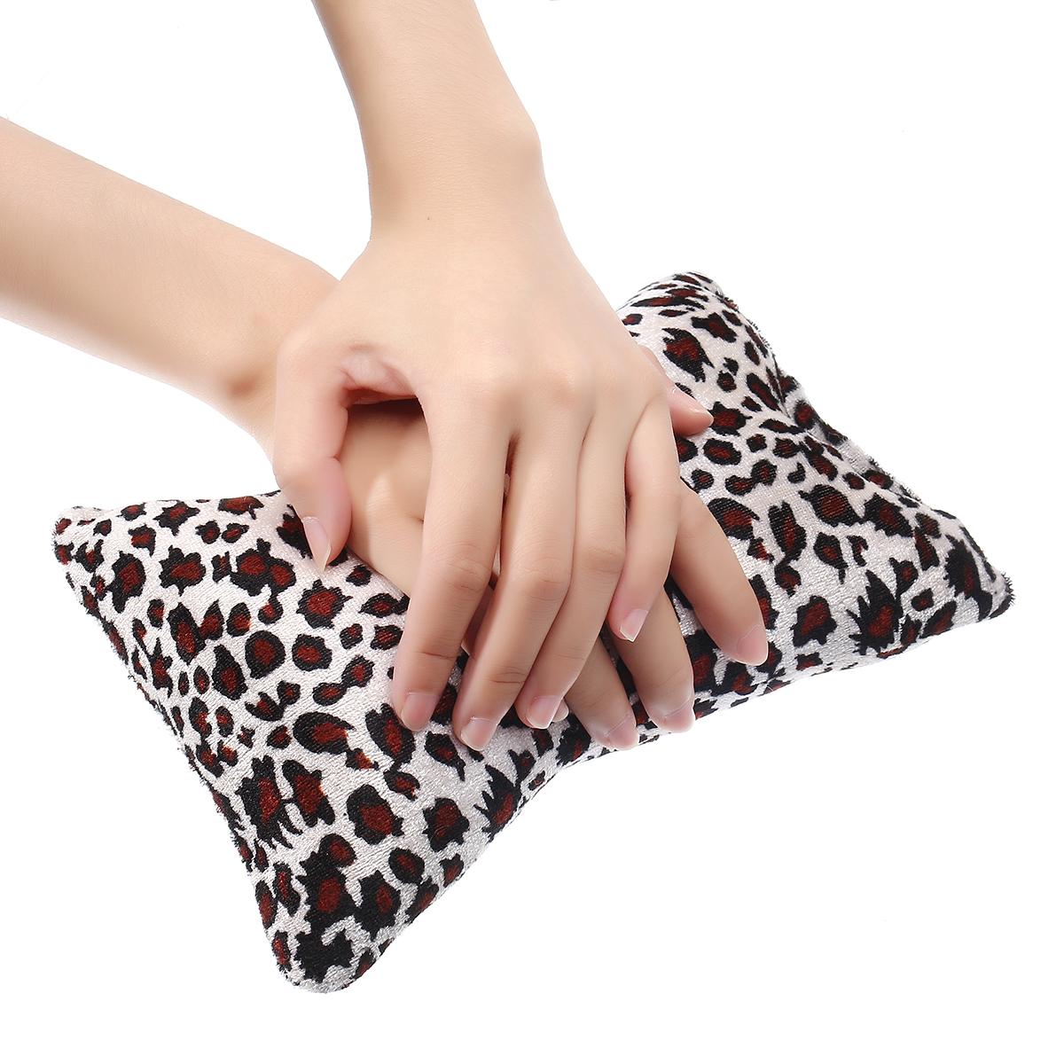 Soft Nail Art Hand Pillow Mini Bone Shape Flannel