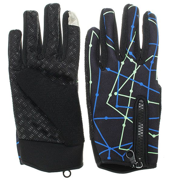 Tough Screenn Anti-skidding Full Finger Gloves Fo
