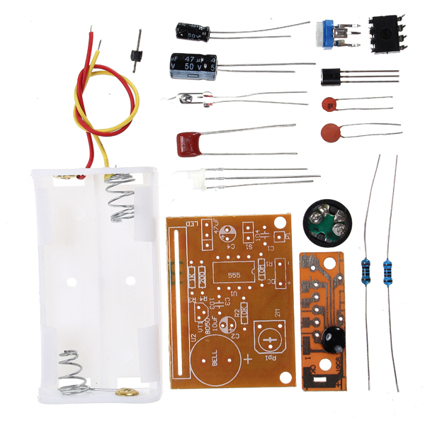 DIY Touch Vibration Alarm Kit Electronic Trai