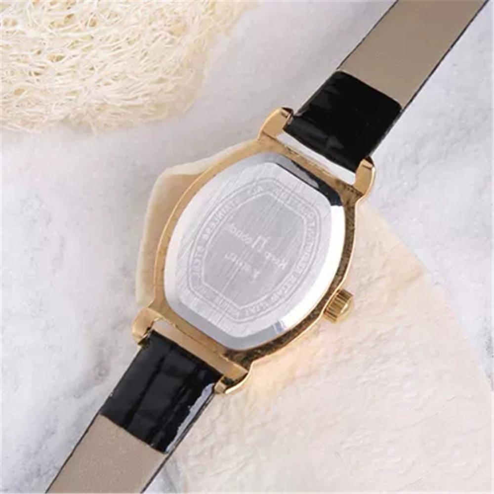Deffrun Rectangle Dial Women Wrist Watch Fashion Casual