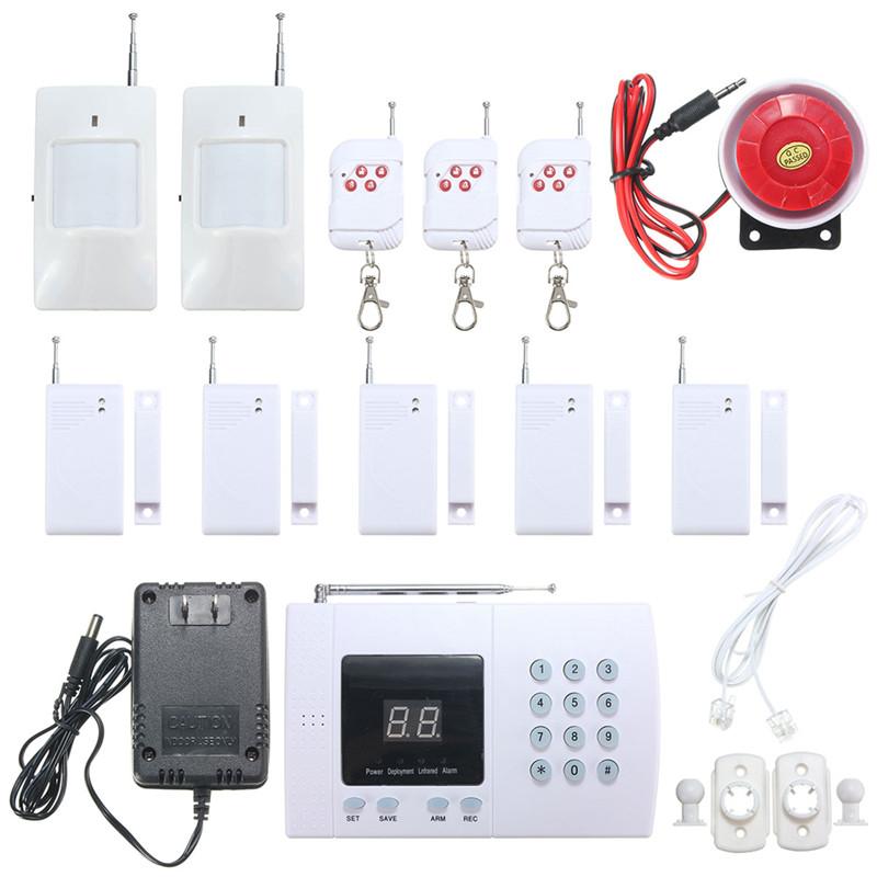 K05 PSTN 99 Zones Wireless PIR Home Security