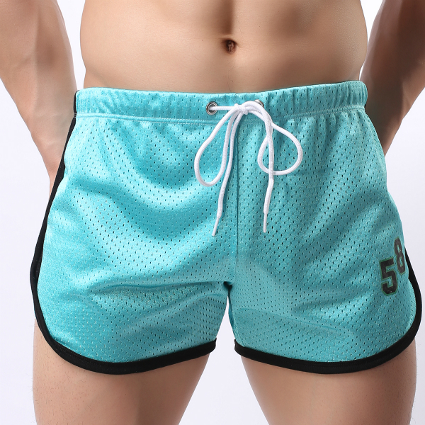 Athletic Running Shorts for Men Double Mesh Quick Qry F