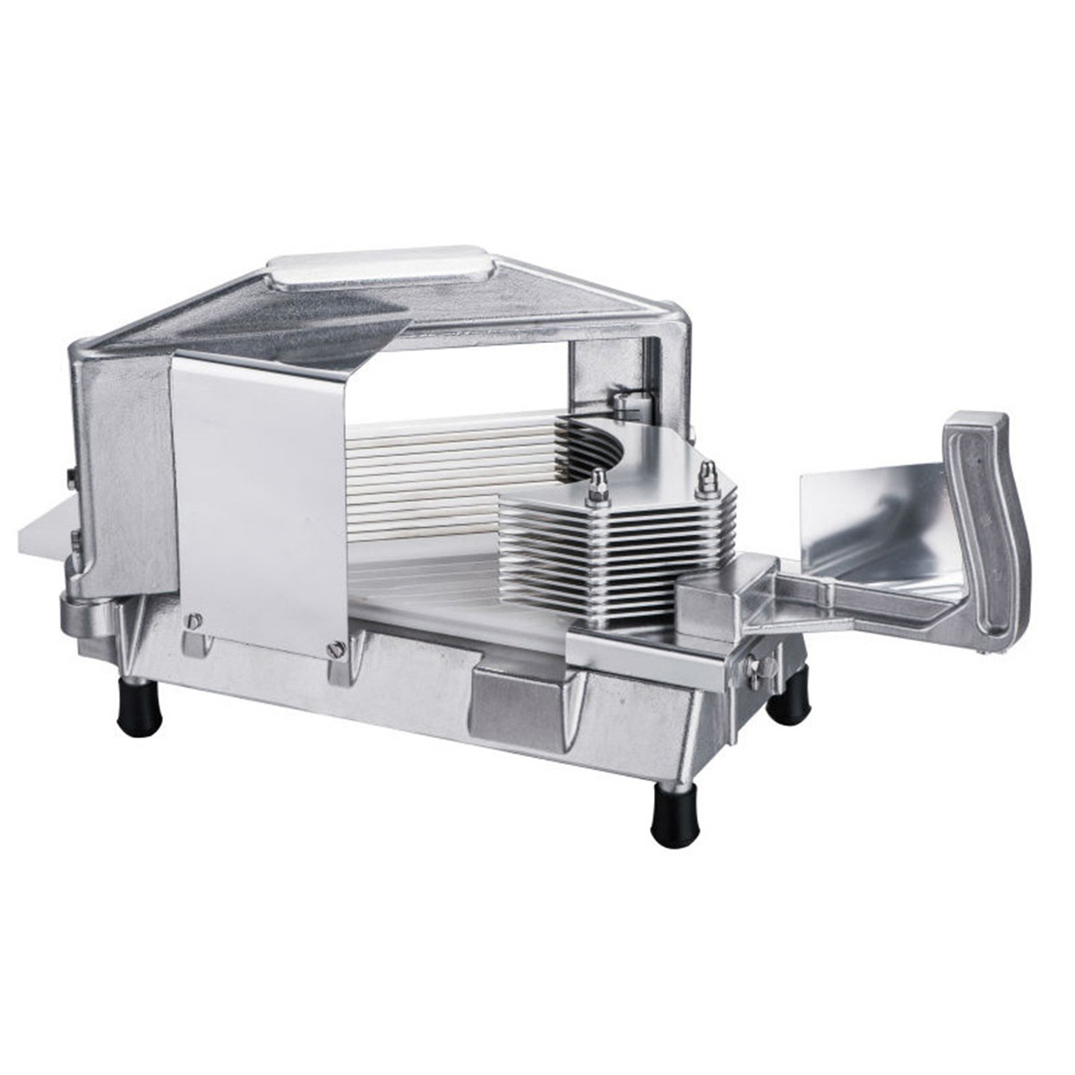 Commercial Tomato Slicer Onion Slicing Cutter Manual Vegetable Cutting Machine