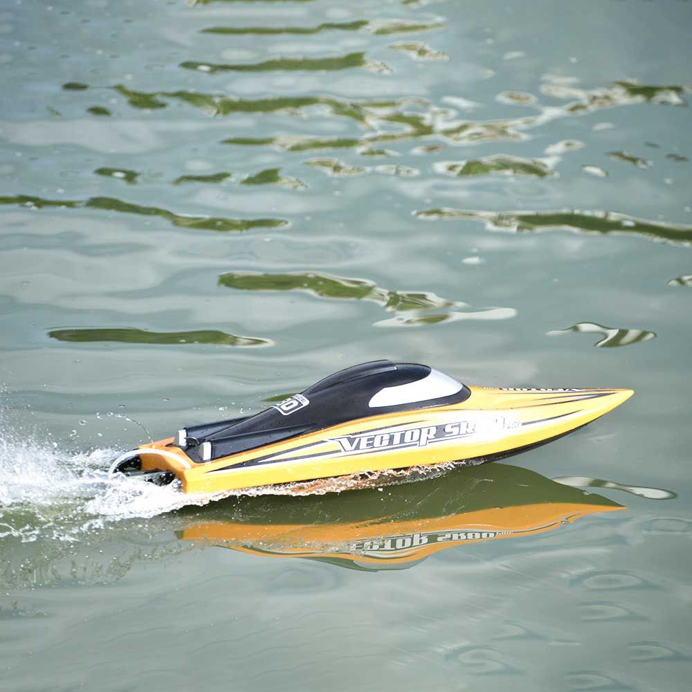 Volantexrc RTR Two Batteries Vector SR80 Pro 70km/h 800mm 798-4P ARTR RC Boat Metal Hardwares Auto Roll Back Function