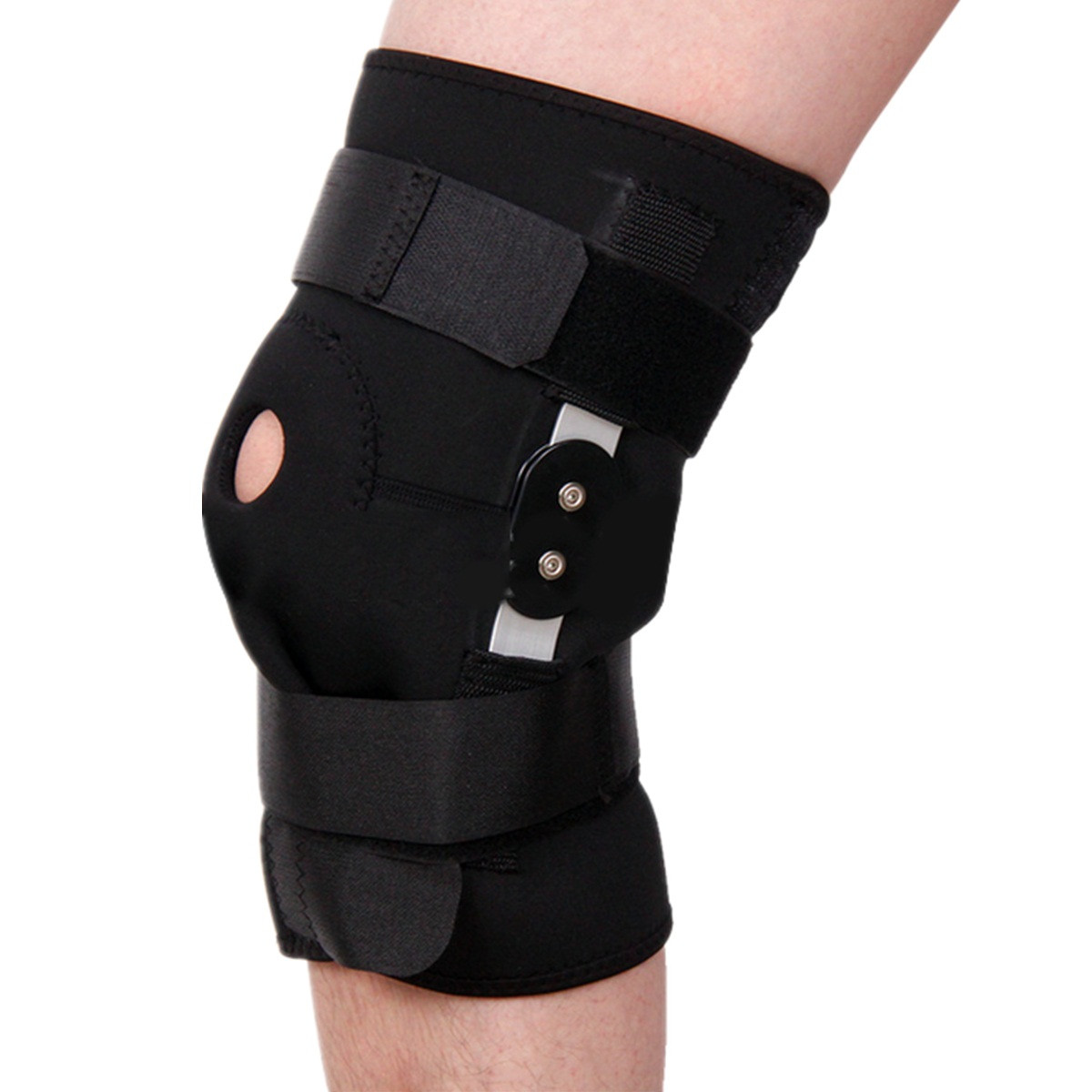 Sports Adjustable Knee Pad Thigh Knee Support Brace Str