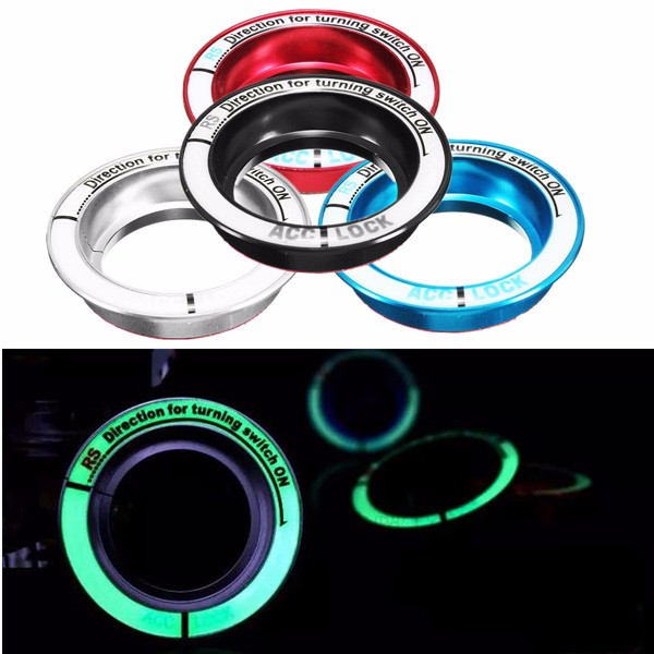Luminous Car Ignition Key Ring Ignition Switch De