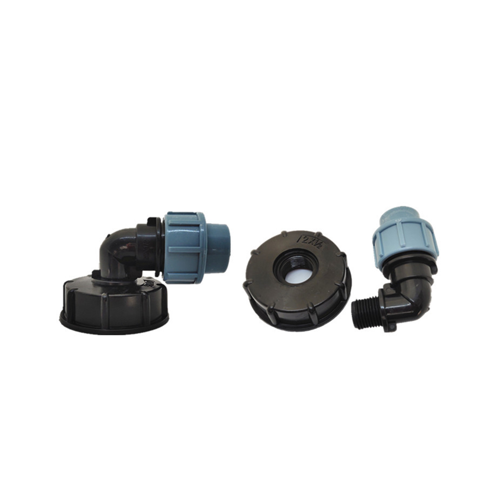 S60x6 IBC Ton Barrel Water Tank Valve Connector 20/25/32mm Elbow Outlet Adapter Barrels Fitting Parts