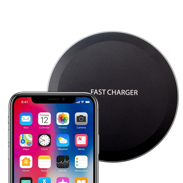 Bakeey 10W Qi Super Slim Wireless Charger Charging