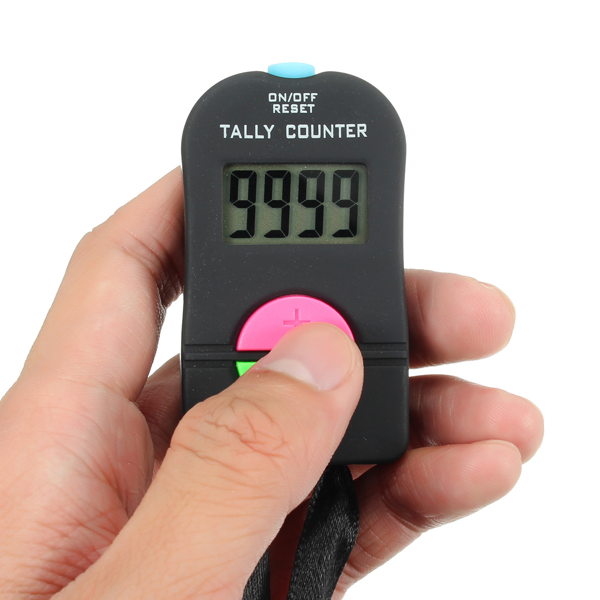 Digital Electronic Hand Tally Head Counter Clicker For