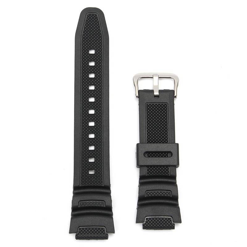 18mm Original Watch Strap Band For Casio SGW-300H SGW-4