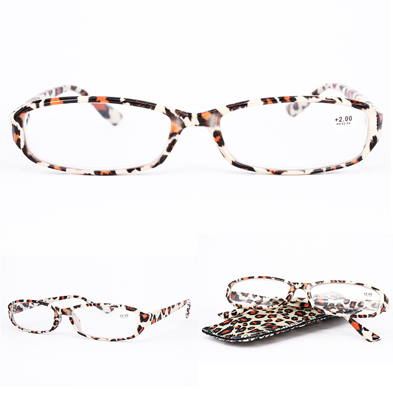 Lightweight Full Frame Floral Resin Reading Glasses Ant