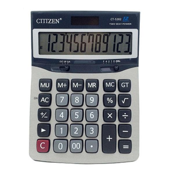 GTTTZEN CT-5202 Solar Calculator For Student Offi