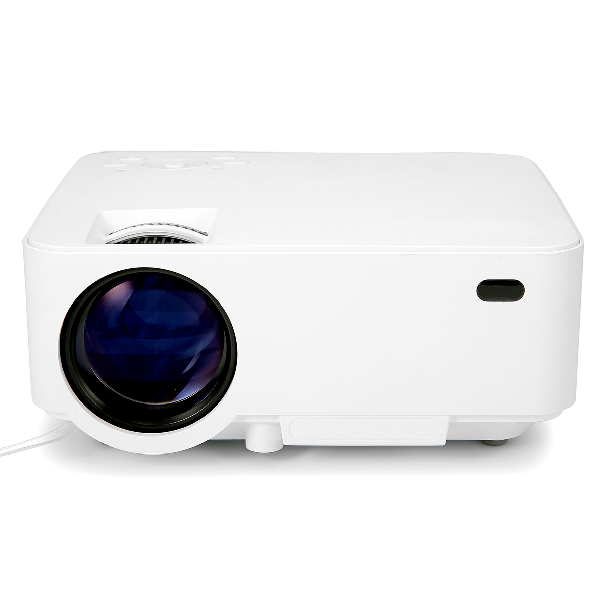 Mini 4 Inch Portable Project Home Theater Video Projector Support T20 1080P LCD To Watch Sports Matches or Movie For Family or Party
