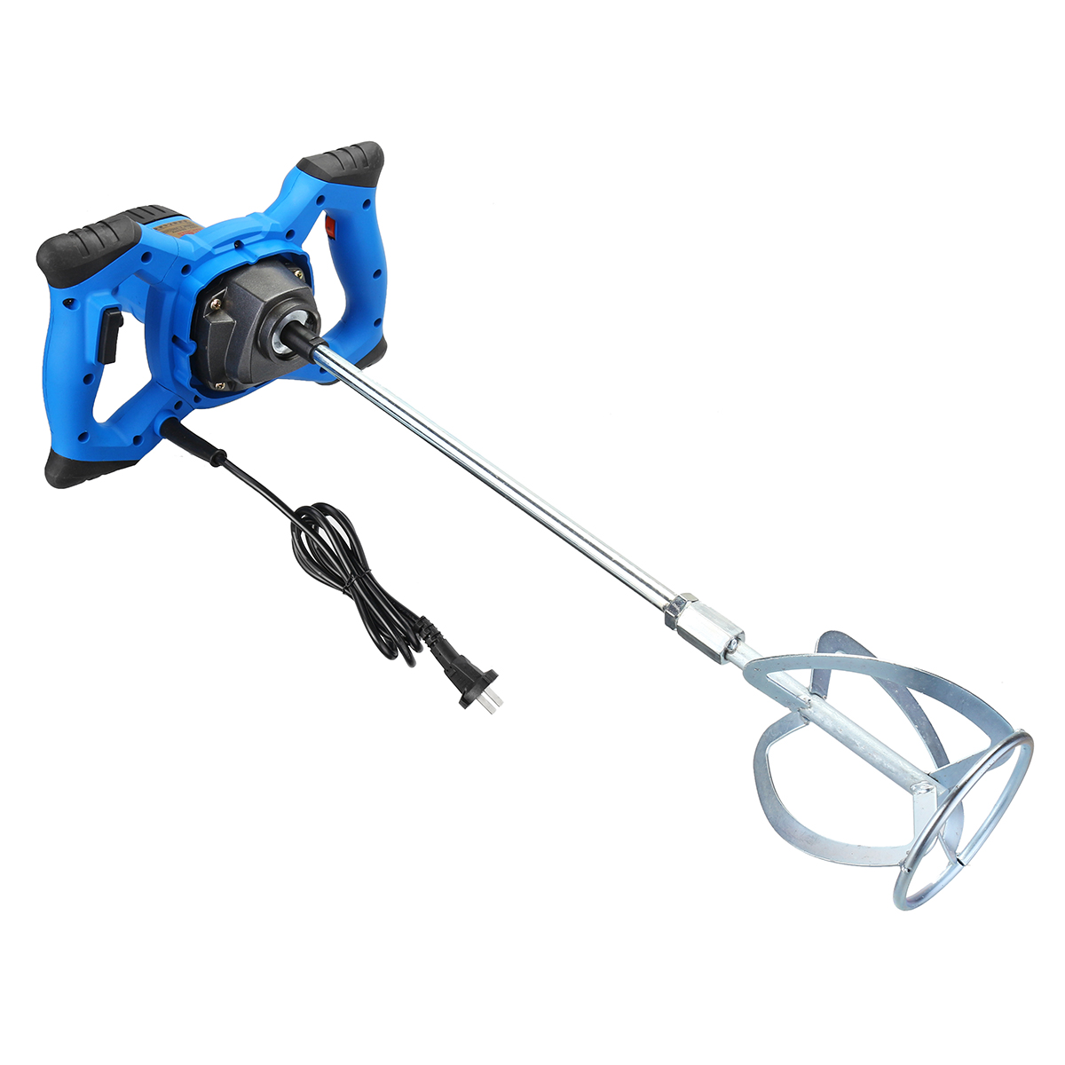 2000W Variable 6 speed Handheld Electric Concrete Cement Mixer Thinset Mortar Grout Blender Cement