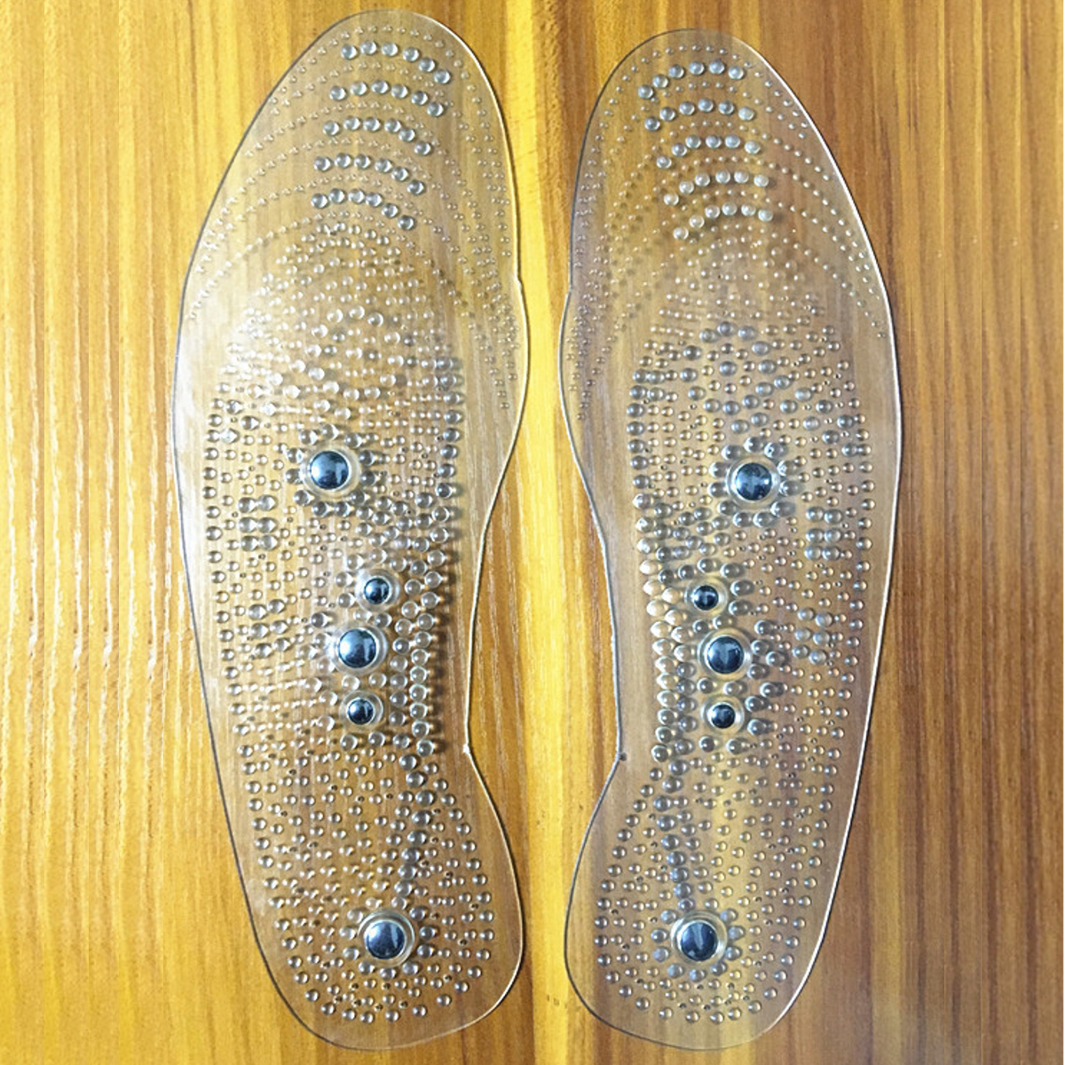 Acupressure Magnetic Massage Insoles Foot Therapy