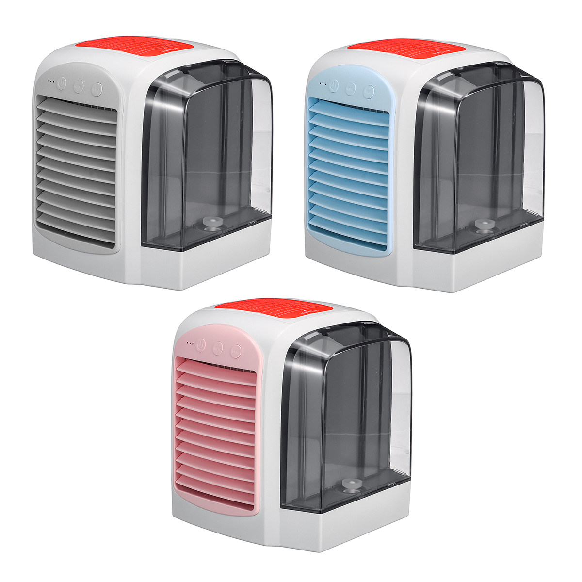 DC5V 380ml Air Conditioner Fan Mini Cool Bedr