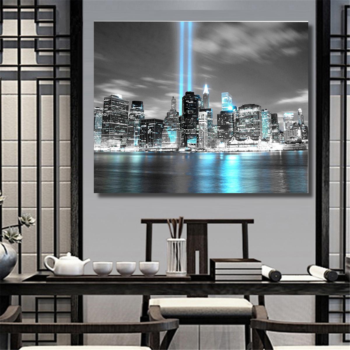 New York City Manhattan Skyline Unframed Paintings Pictures Wall Art Painting Ebay