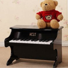 Best 25 Key Musical Instrument Educational Toys Mini Piano Wooden