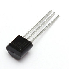5Pcs LM35DZ TO-92 LM35 Precision Centigrade Temperature Sensor