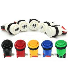 5V Arcade Push Button Durable Long Switch Multicolor
