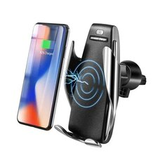 Car Air Vent Phone Holder 10W QI Wireless Fast Charger Bracket Universal for iPhone X XS XR
