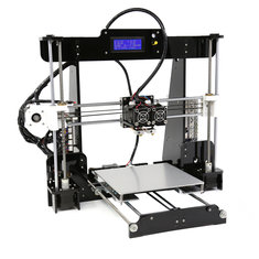 Anet® A8-M DIY Upgrated 3D Printer Kit Dual Extruder Support Dual-Color Printing Abnormal Heating Protection 220*220*240mm Printing Size