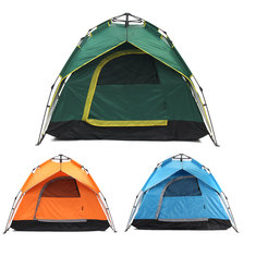 IPRee™ 4 Person Family Tent Fast Automatic Waterproof Sunshade Anti-UV Camping Hiking