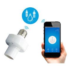 SONOFF® Slampher E27 WiFi Bulb Adapter Smart APP Holder Socket Work With Alexa Google Home AC90-250V